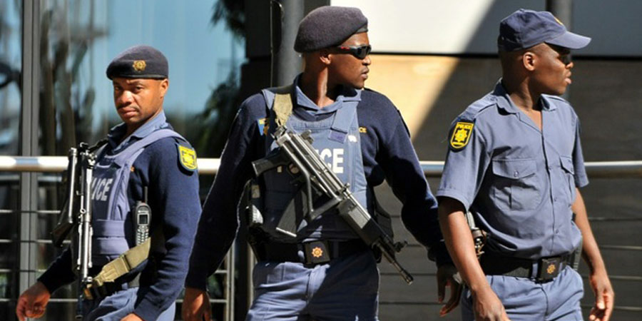South African police. Alexander Joe (AFP/File)