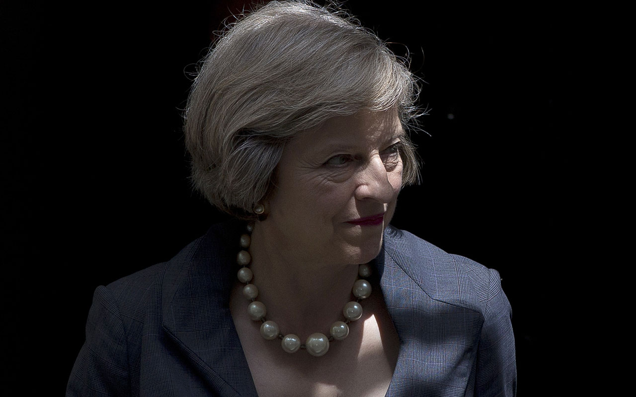 British Prime Minister Theresa May/ AFP PHOTO / JUSTIN TALLIS