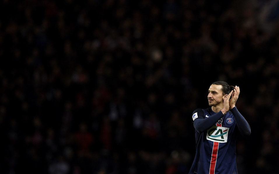 Zlatan Ibrahimovic / AFP PHOTO / FRANCK FIFE