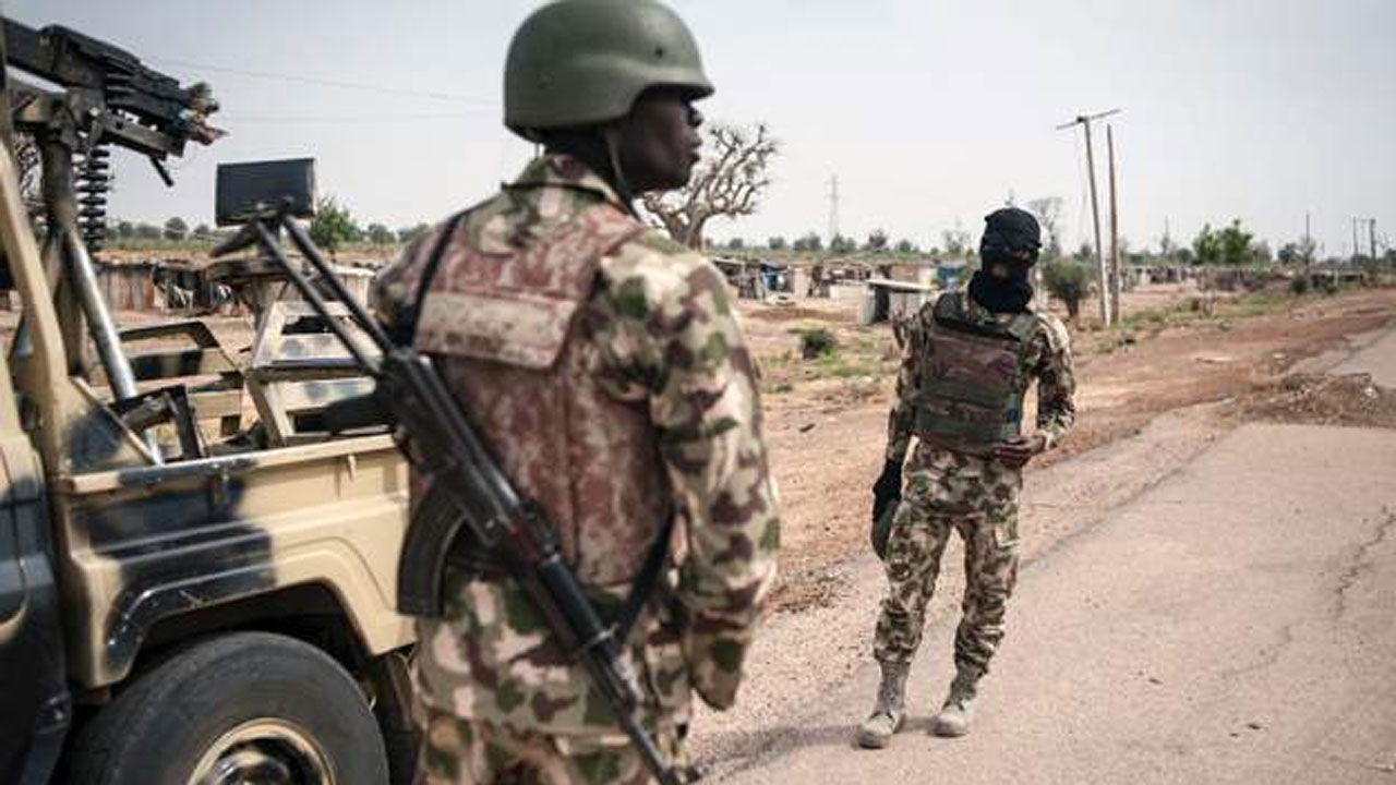 Nigerian soldiers are fighting Boko Haram militants in north-east Nigeria. PHOTO: AFP