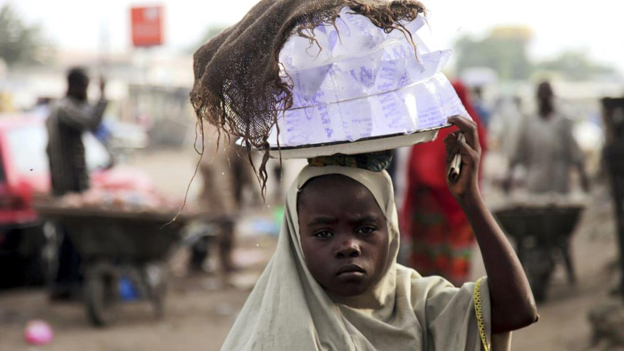 Image result for hawking child in africa
