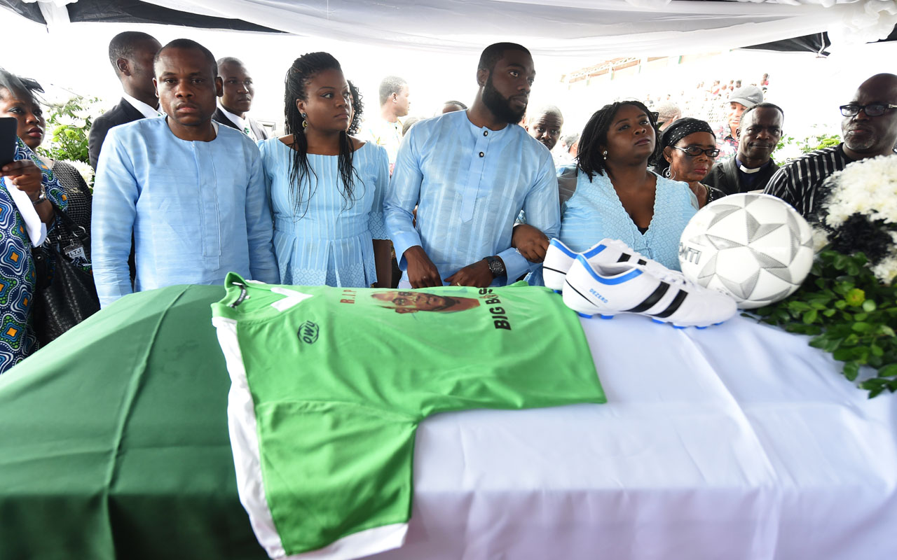 Nigeria legend Keshi buried | The Guardian Nigeria News - Nigeria ...