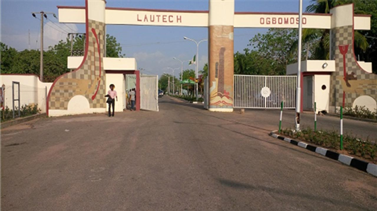 Main Entrance, LAUTECH. Photo: Guardian