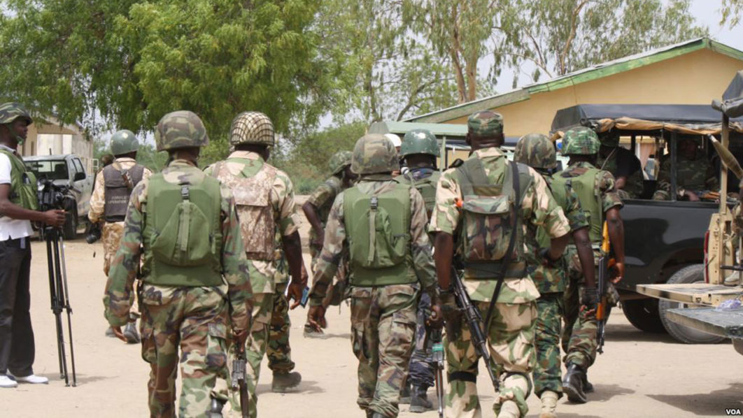 Army charge troops to dislocate remnants of terrorists in North
