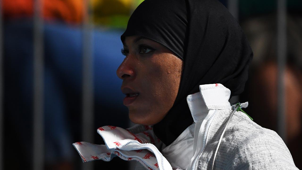 Ibtihaj Muhammad . PHOTO: AFP
