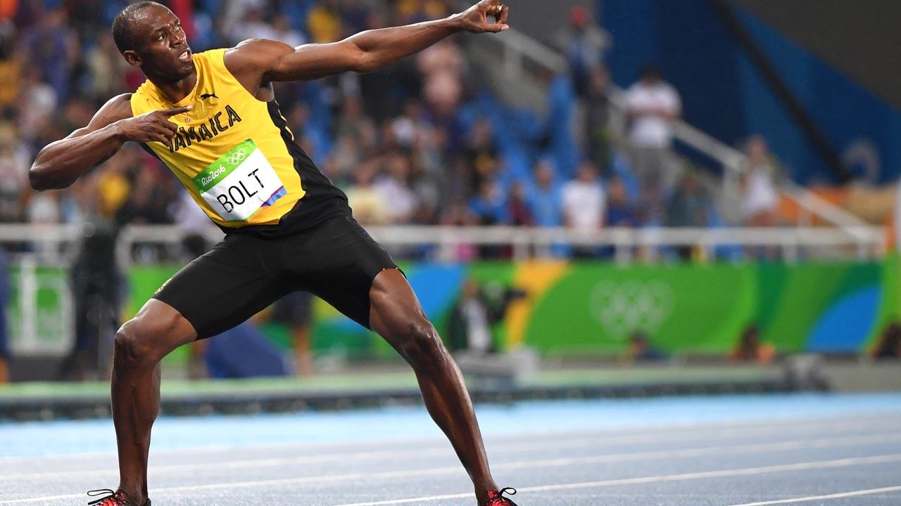 Jamaica's Usain Bolt / OLIVIER MORIN / AFP