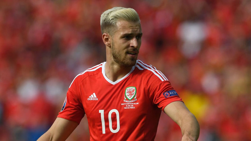 Wales' midfielder Aaron Ramsey/ MIGUEL MEDINA/AFP/Getty Images)