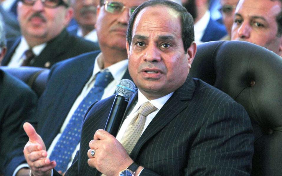 Abdel Fattah al-Sisi / AFP PHOTO / EGYPTIAN PRESIDENCY / MOHAMED SAMAAHA /