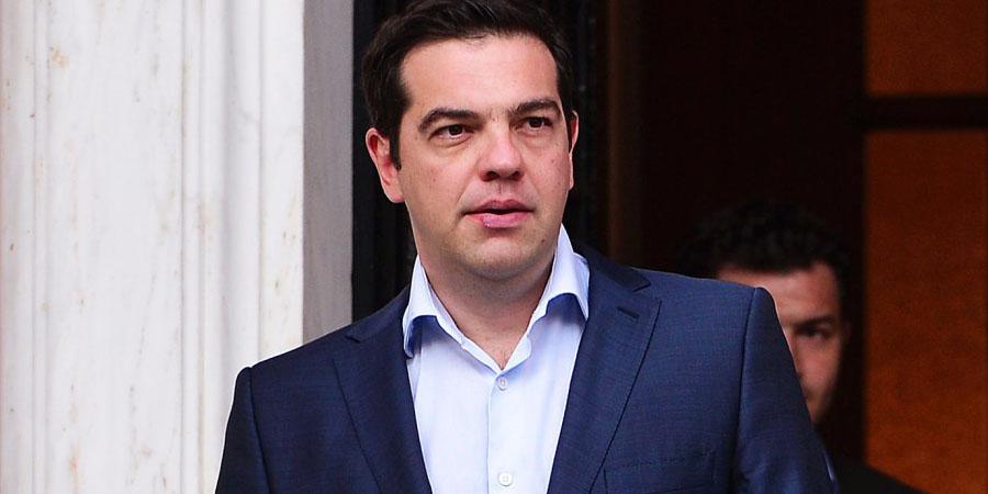 Alexis Tsipras  PHOTO:AFP