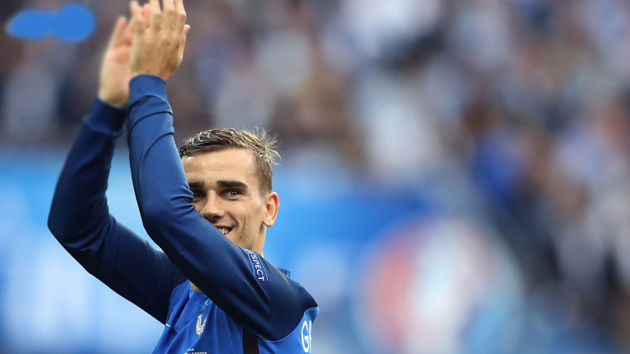 Antoine Griezmann PHOTO:VALERY HACHE/AFP