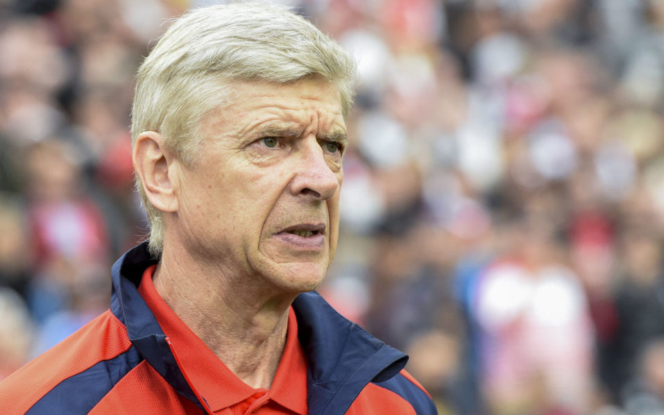 Arsenal's French head coach Arsene Wenger / AFP PHOTO / JONATHAN NACKSTRAND