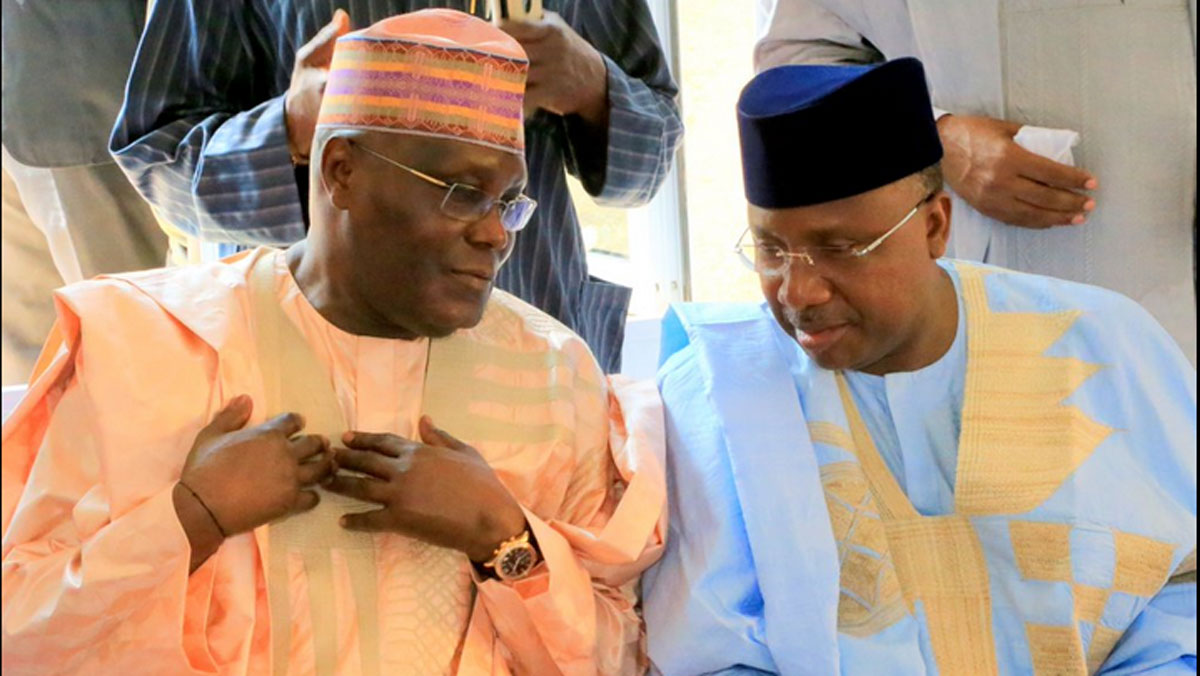 Atiku-supporting minister meets Buhari, keeps mum on defection