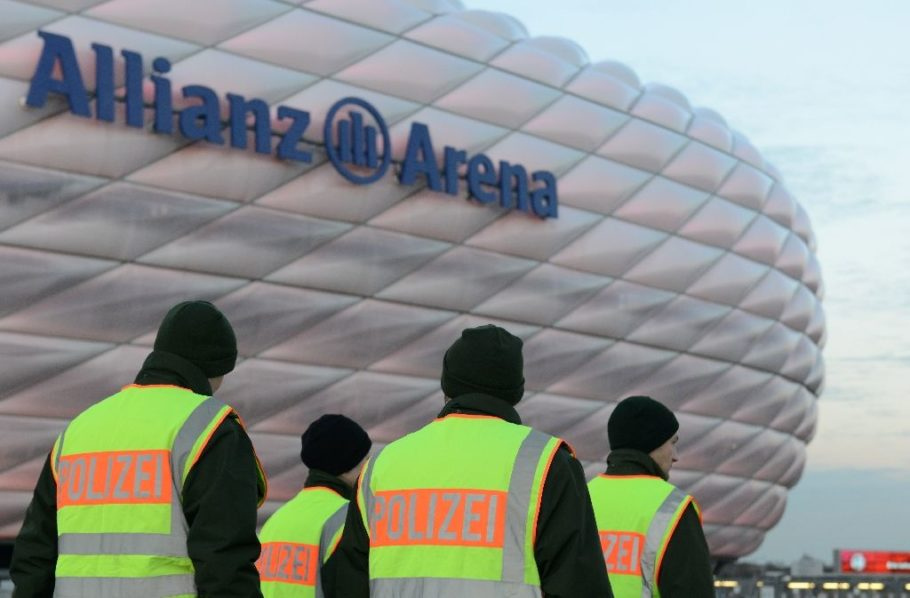 Bayern Munich has stepped up security at Munich's Allianz Arena, where around 70,000 are expected for Friday's match against Werder Bremen (AFP Photo/Christof Stache)