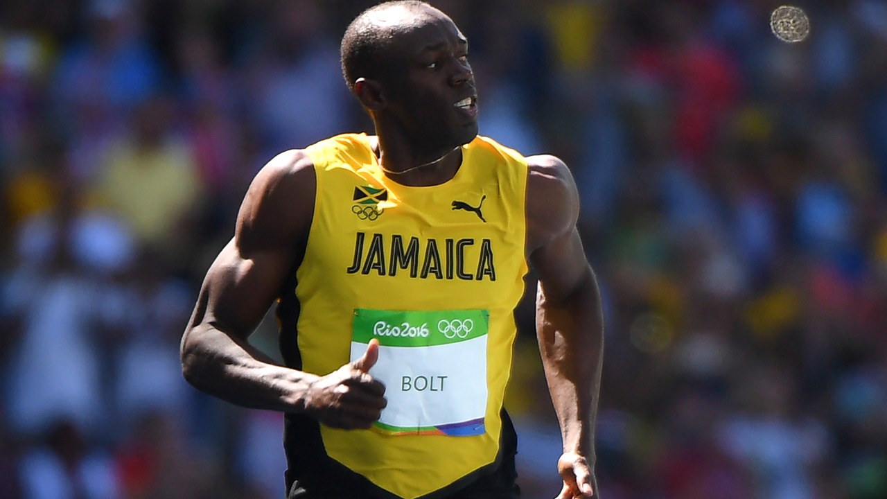 Jamaica's Usain Bolt / AFP PHOTO / OLIVIER MORIN
