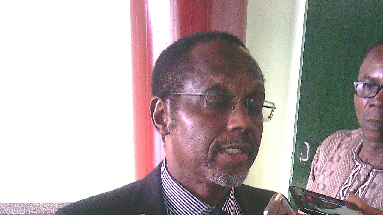 Tomi Akingbogun. FTAN President
