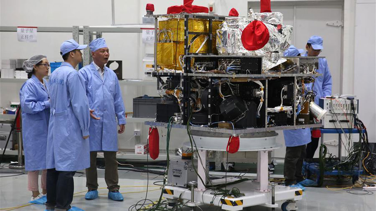 China launched the world's first quantum satellite Tuesday, state media reported, in an effort to harness the power of particle physics to build an unbreakable system of encrypted communications.