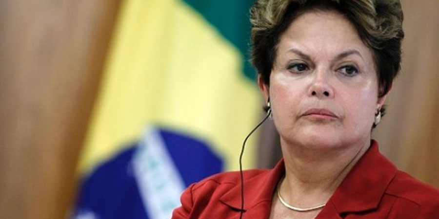 Dilma Rousseff. PHOTO:AFP