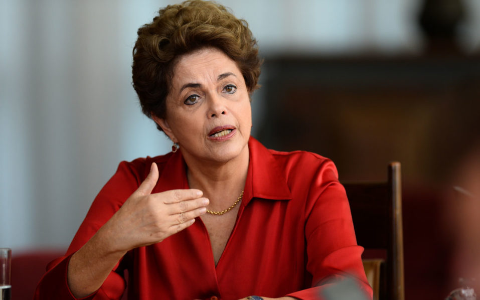 Brazilian suspended President Dilma Rousseff/ AFP PHOTO / ANDRESSA ANHOLETE