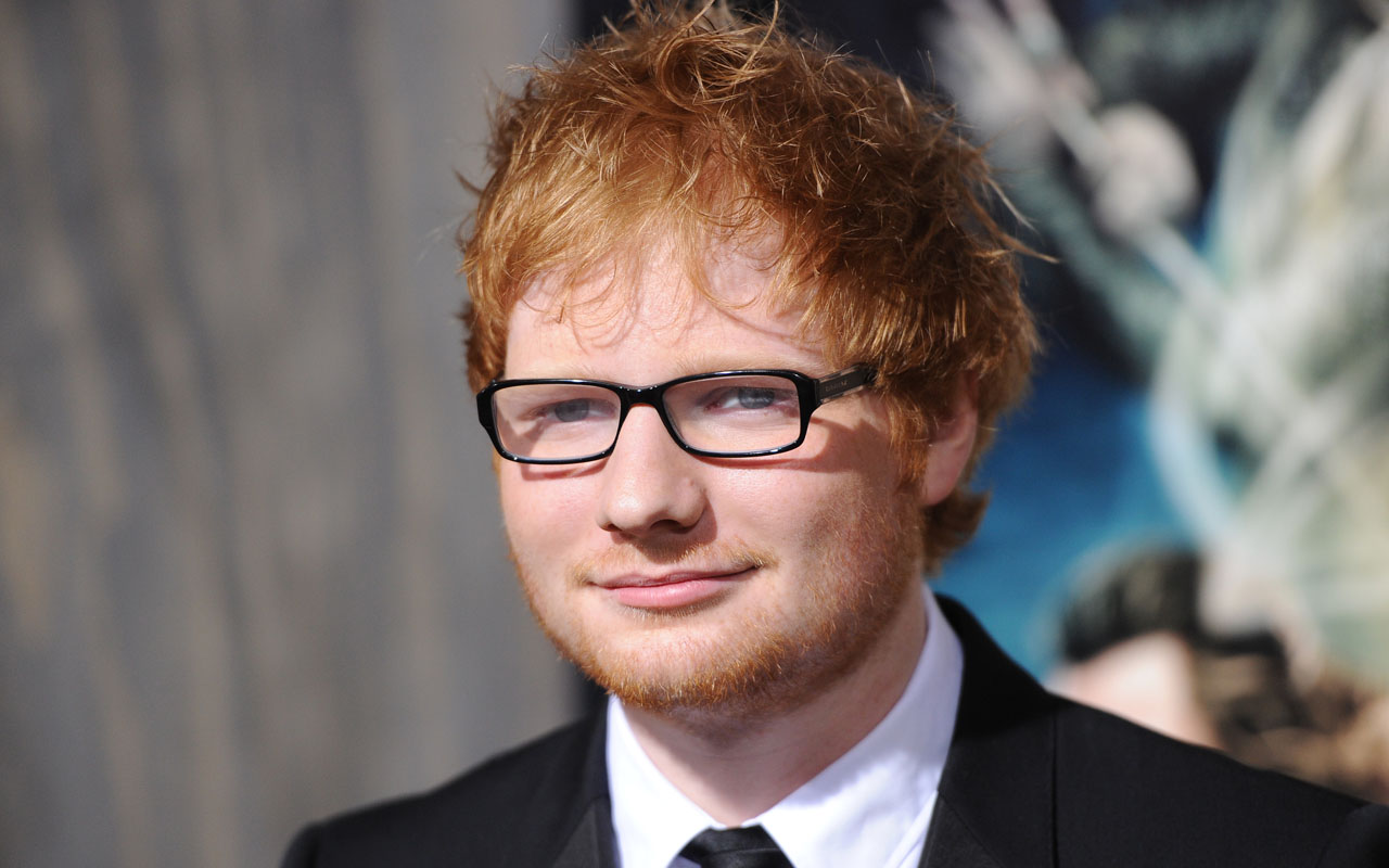 Ed Sheeran. PHOTO: ROBYN BECK/AFP/Getty Images