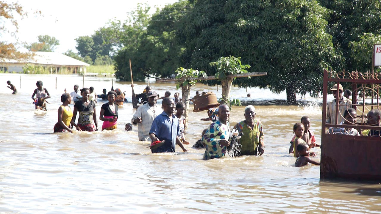 Flood victims in Edo State