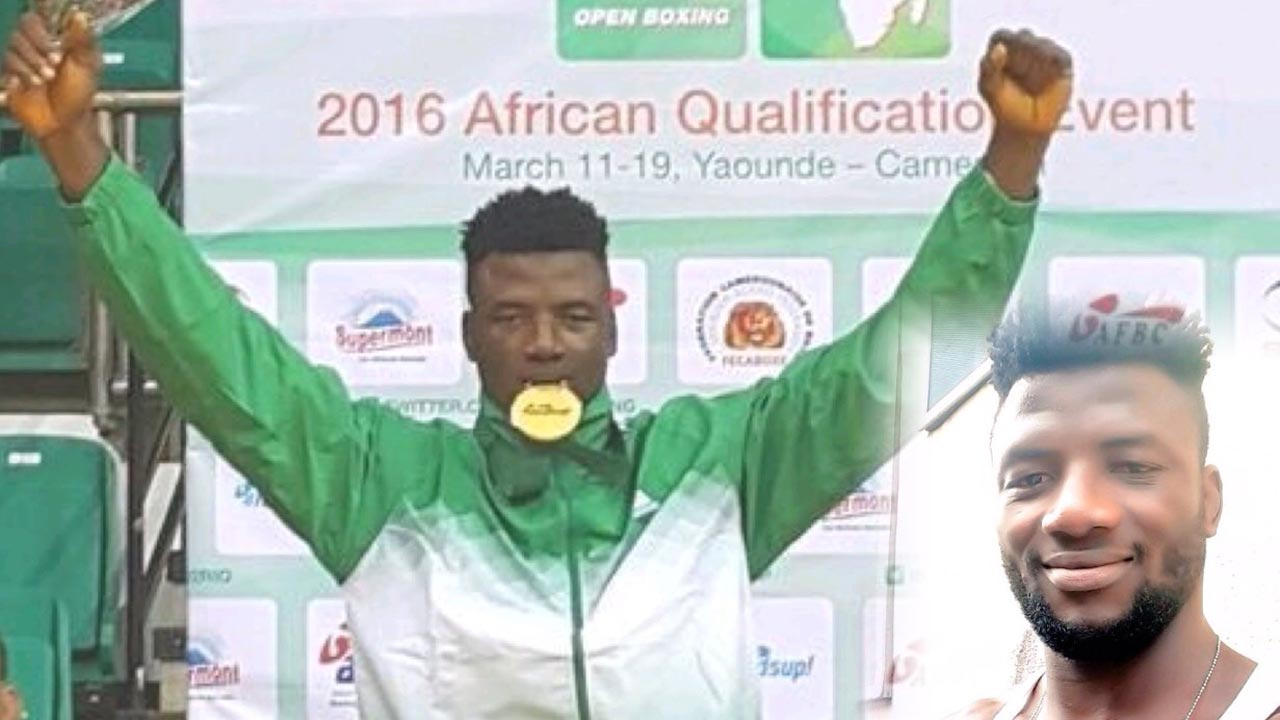 Efe Ajagba is Nigeria's sole representative in the boxing event, which begins tomorrow.