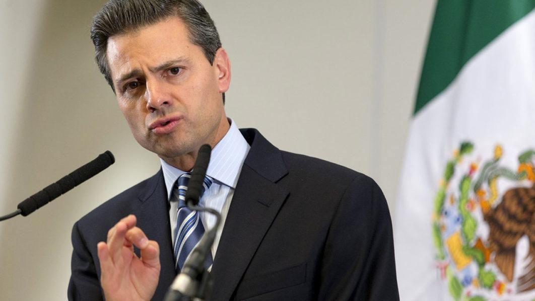 Mexican President Enrique Pena Nieto /AFP PHOTO/JUSTIN TALLIS