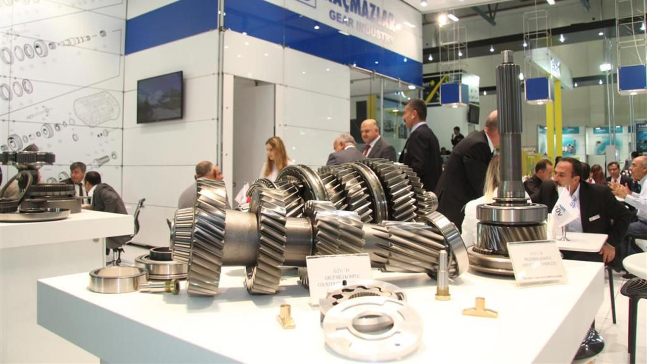 Exhibit At Automechanika Istanbul