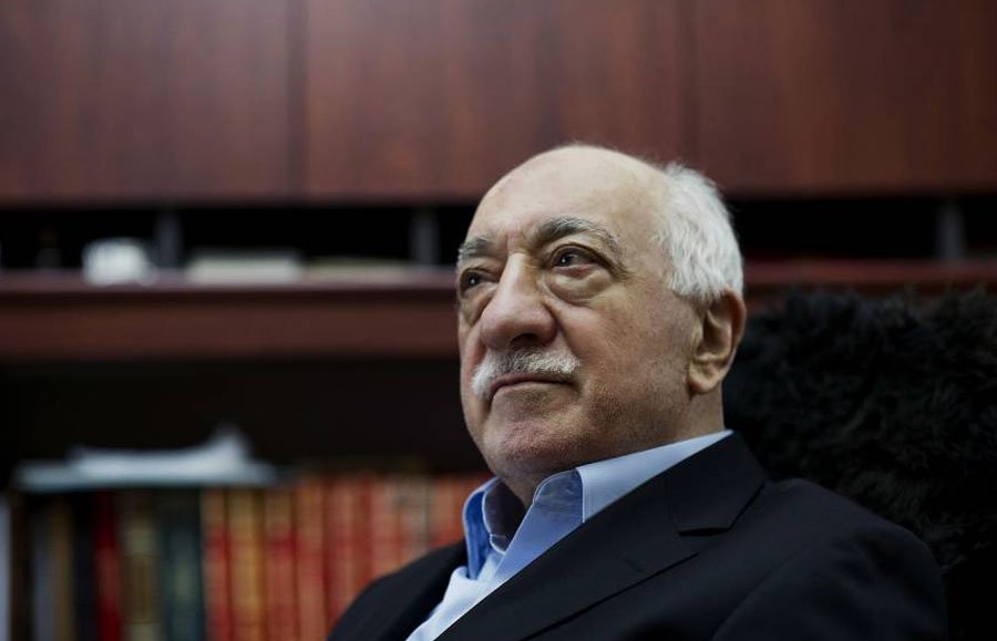 Turkish Muslim cleric Fethullah Gulen, shown at home in 2014 in Saylorsburg, Pennsylvania, once was an ally of President Recep Tayyip Erdogan. | AP
