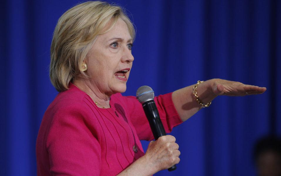 Hillary Clinton / AFP PHOTO / DOMINICK REUTER
