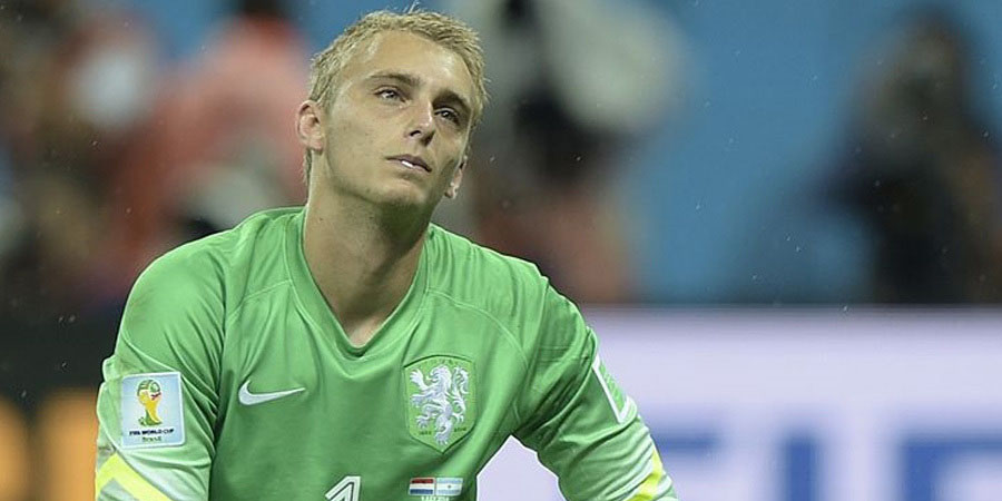 Netherlands' goalkeeper Jasper Cillessen /AFP PHOTO / JUAN MABROMATA