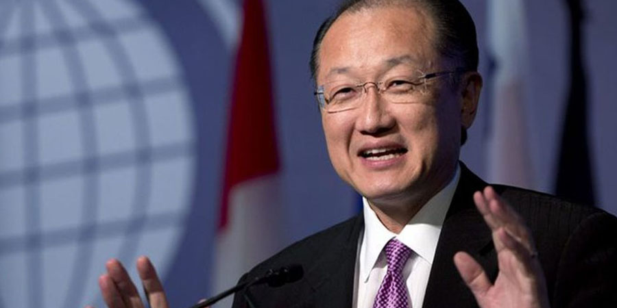 Jim Yong Kim. PHOTO:AFP