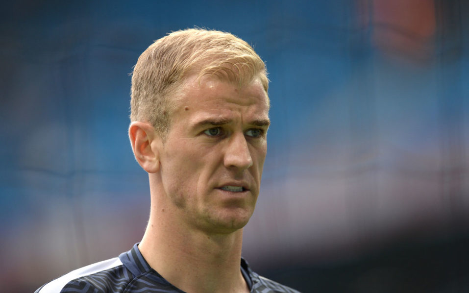 Joe Hart  / AFP PHOTO / OLI SCARFF /