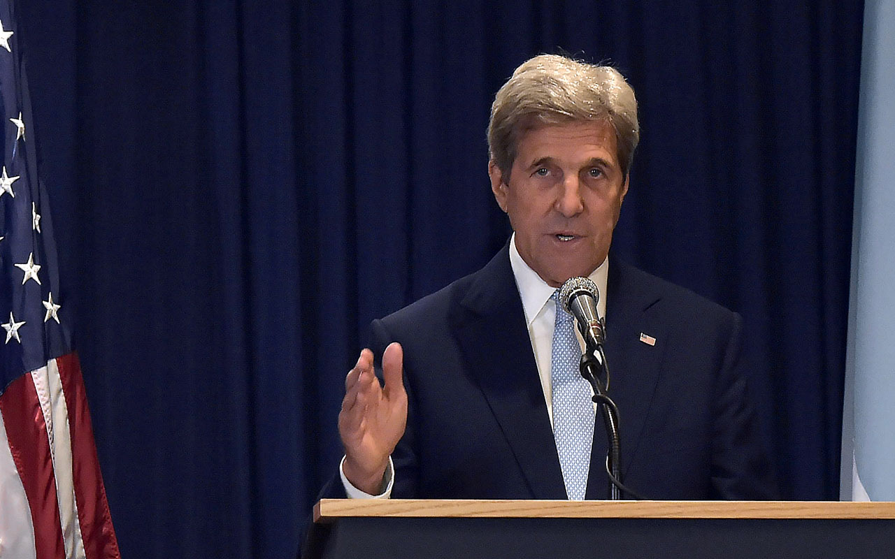 US Secretary of State John Kerry / AFP PHOTO / SIMON MAINA