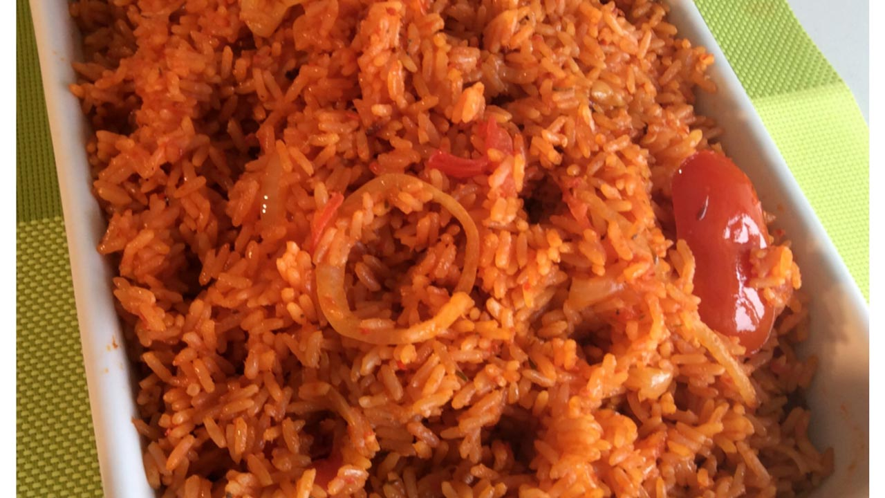 Pepper Jollof rice