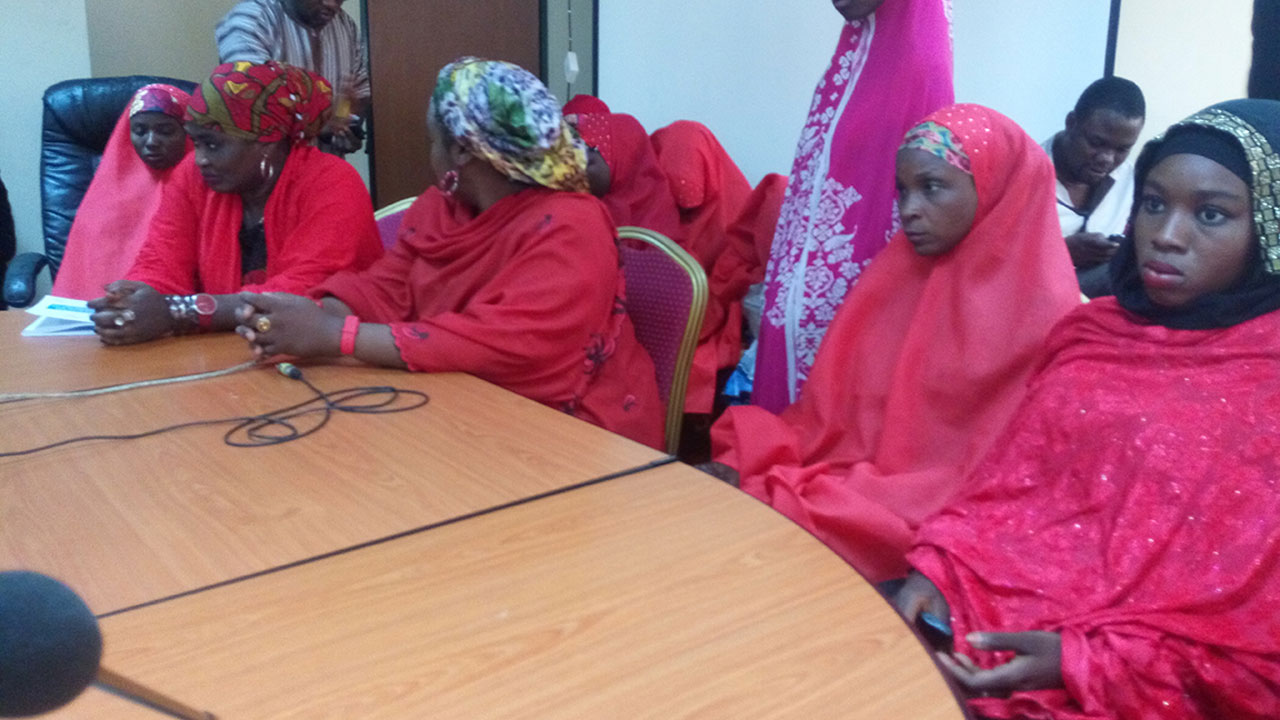 New brides when they presented their petition to the National Human Rights Commission (NHRC) in Abuja