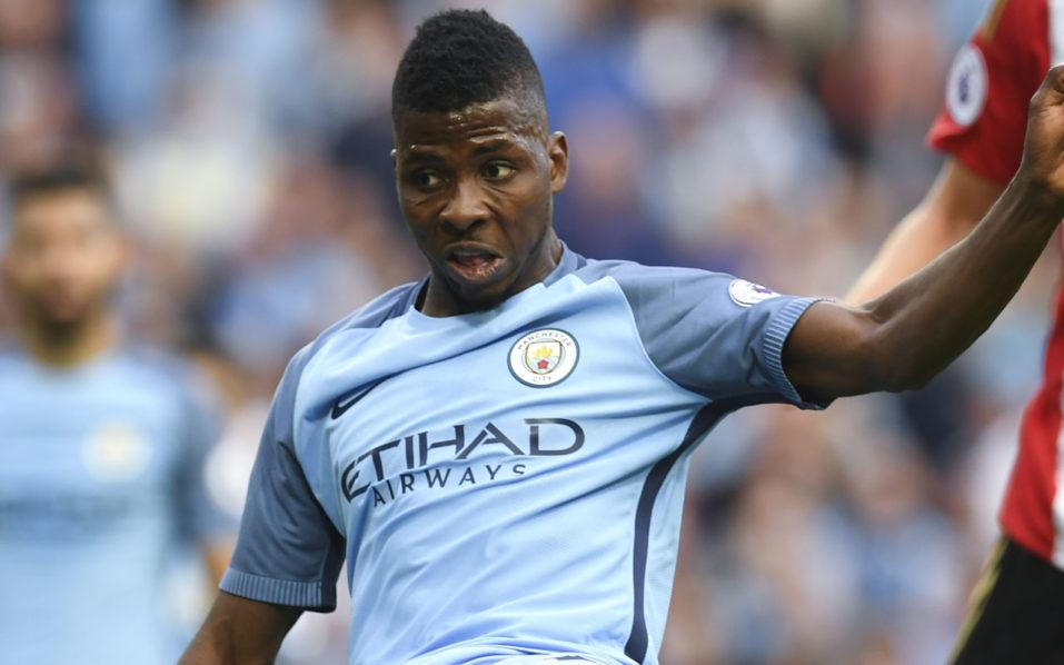 Manchester City's Nigerian striker Kelechi Iheanacho/ AFP PHOTO / PAUL ELLIS /