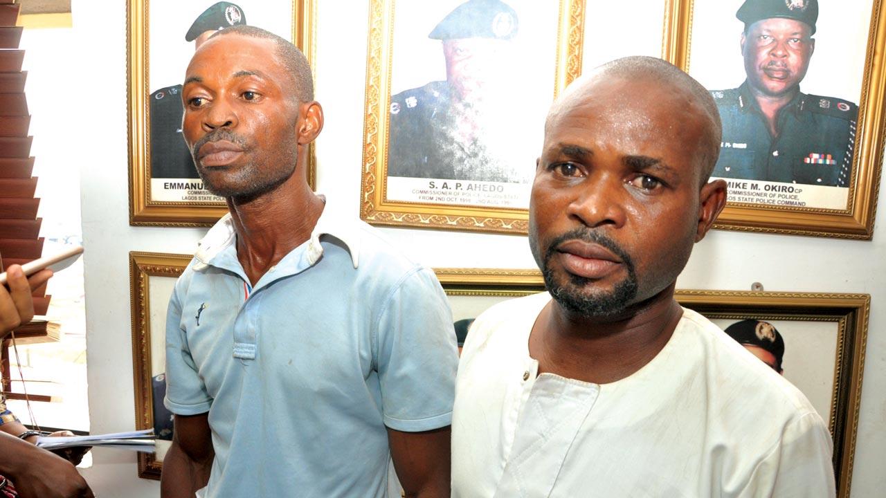 Uche Omeruwa (left) and Kenneth Alozie PHOTOS: ODITA SUNDAY