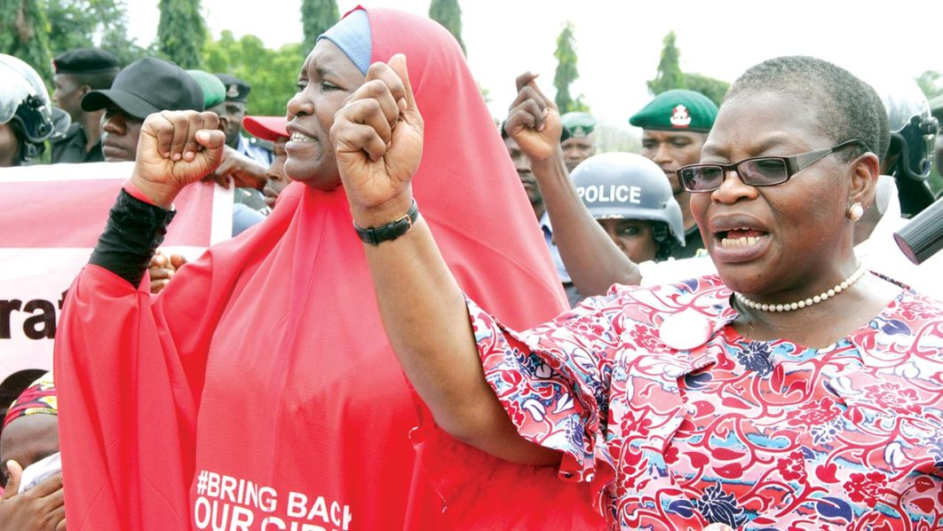 Missing Chibok, Dapchi girls will be rescued, Buhari pledges