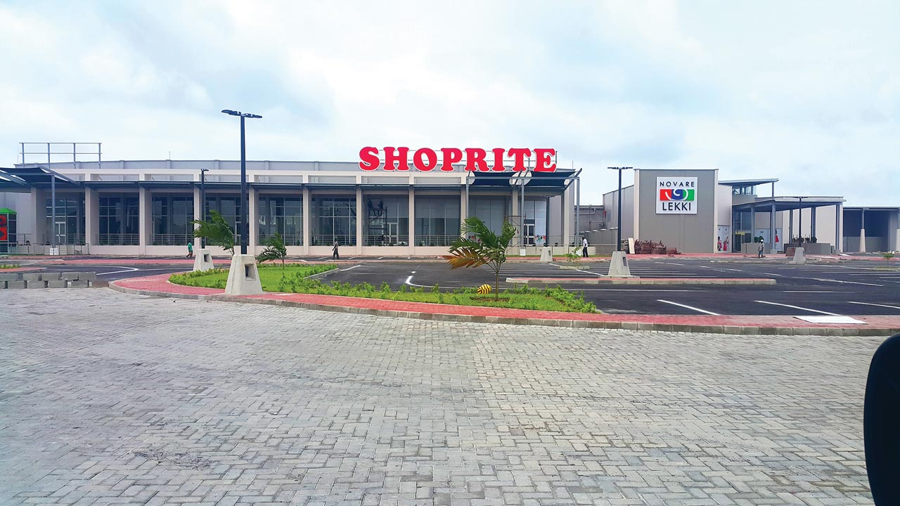 The newly built Novare Lekki, Lagos