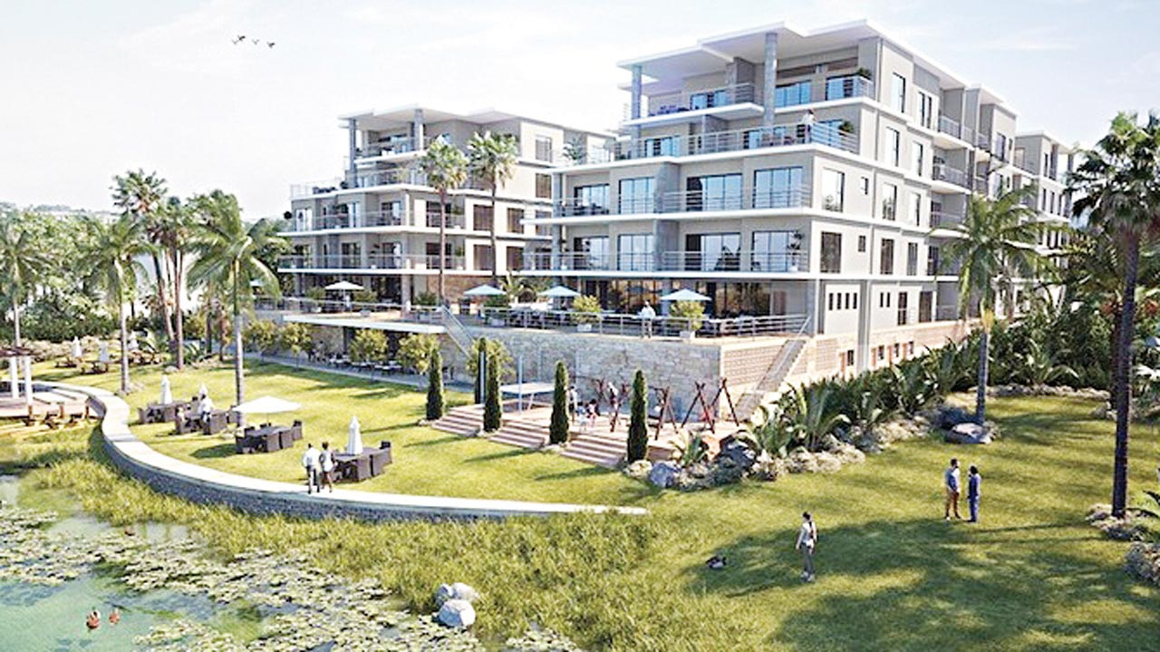 The proposed Riviera apartments in Accra, Ghana
