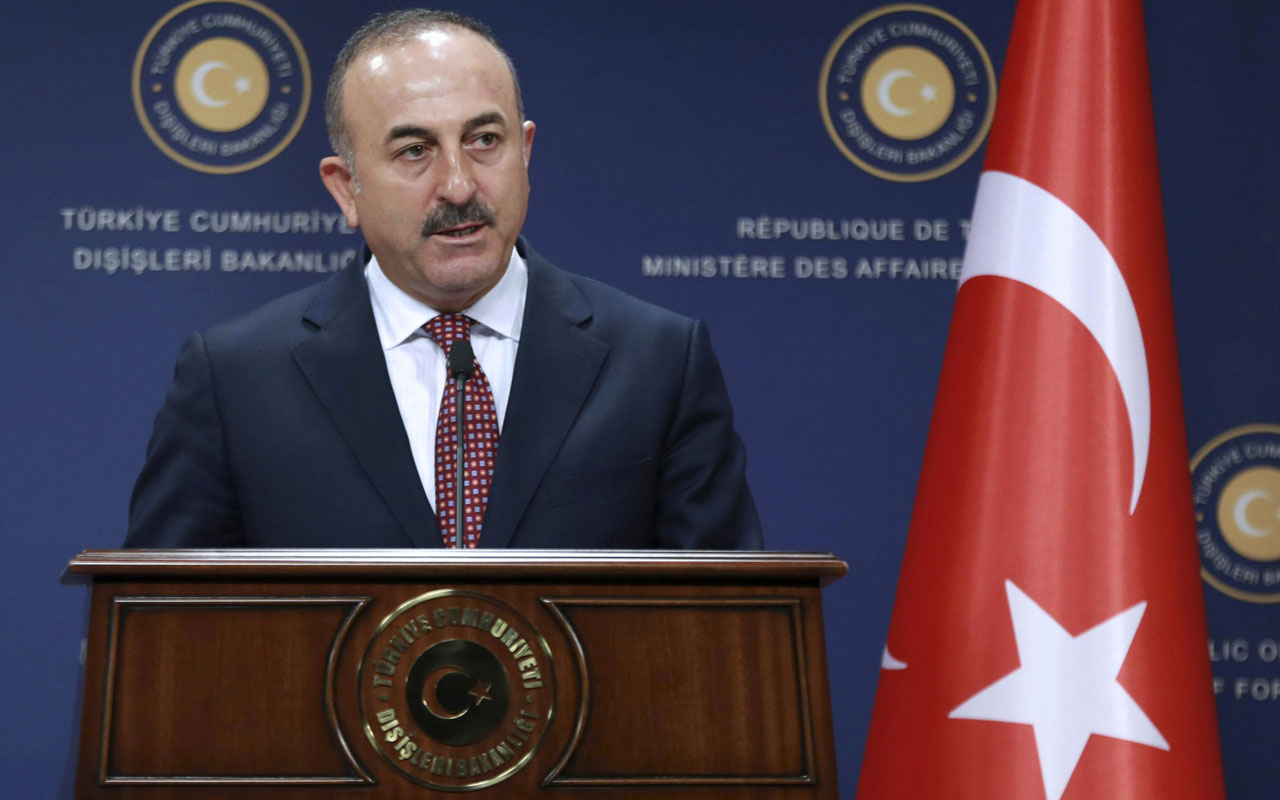 Turkish Foreign Minister Mevlut Cavusoglu / AFP PHOTO / ADEM ALTAN