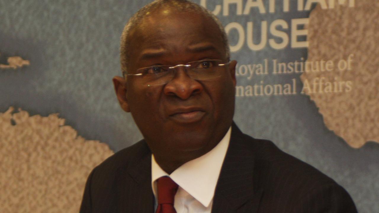 Minister of Works, Power and Housing Babatunde Fashola