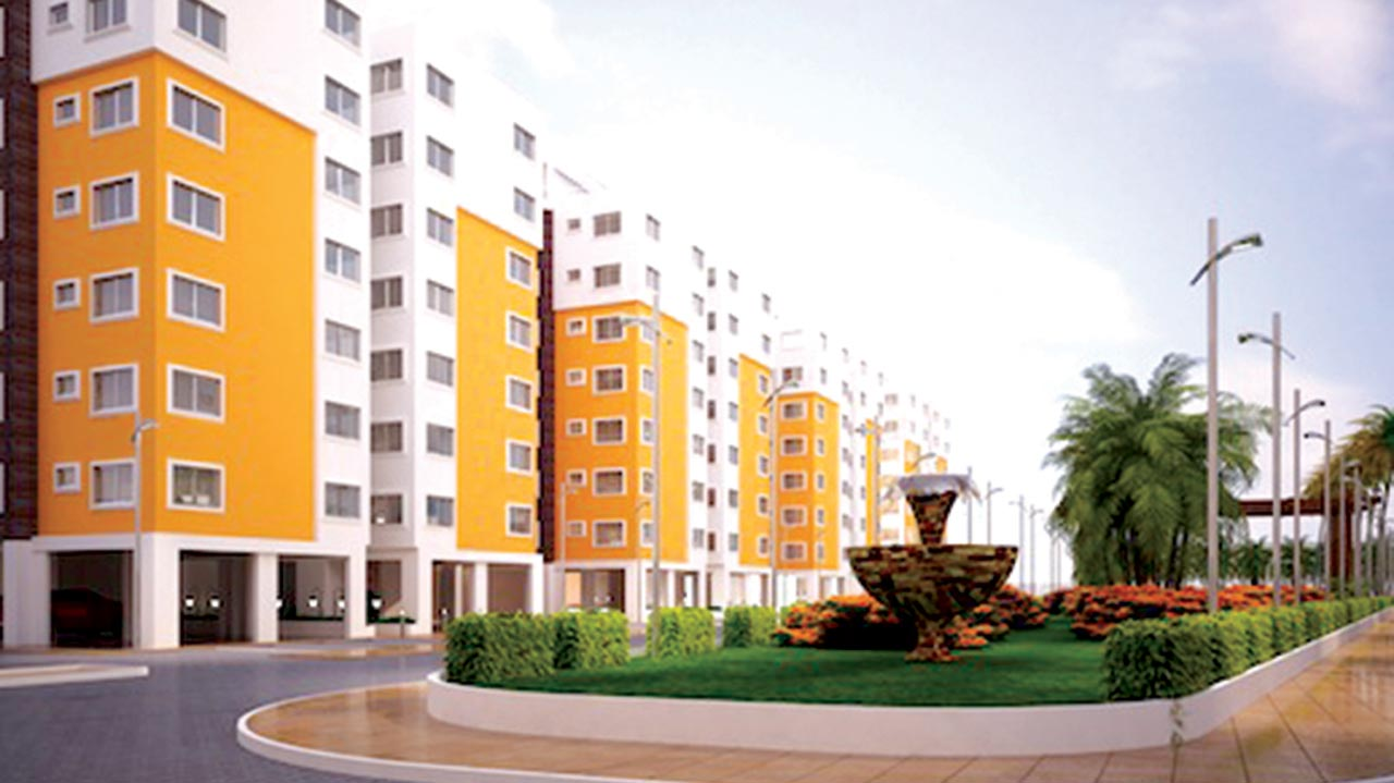 The proposed Modo Heights estate, Lagos