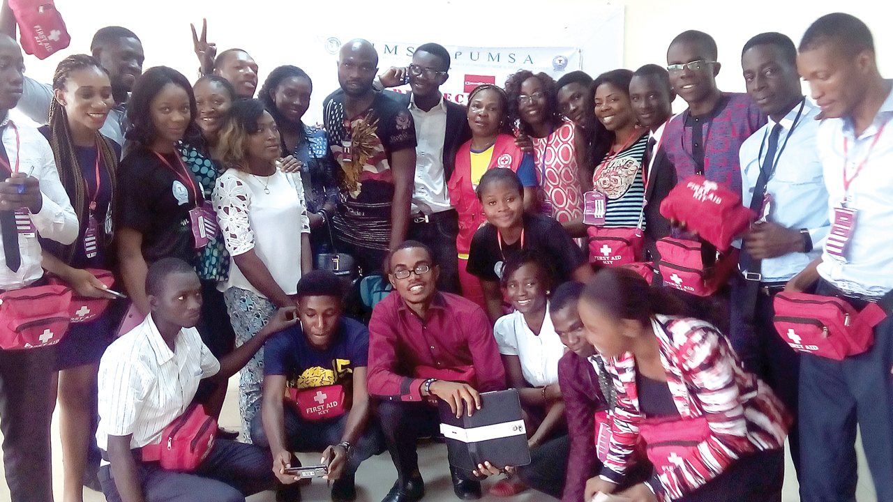 Participants and their facilitators at the NIMSA programme