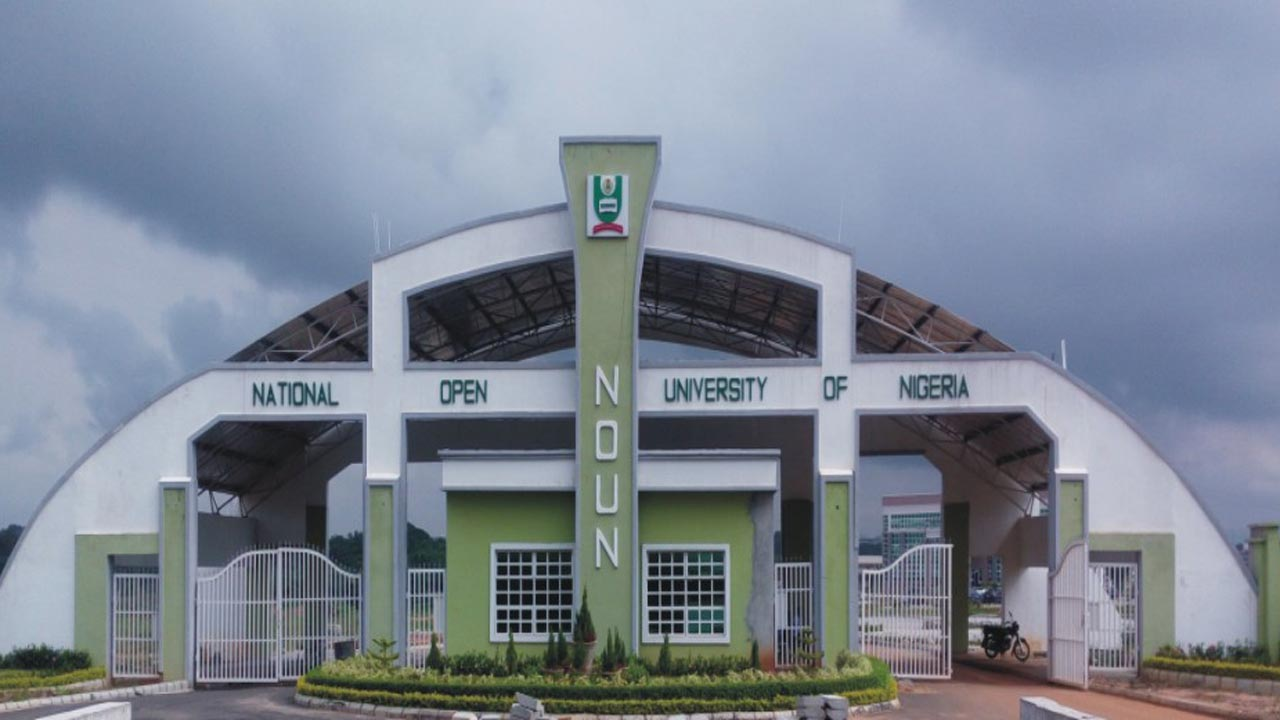 National Open University of Nigeria. (NOUN)