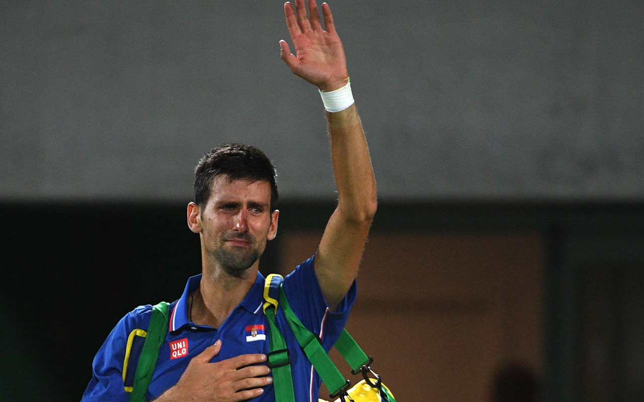 Novak Djokovic / AFP PHOTO / Roberto SCHMIDT
