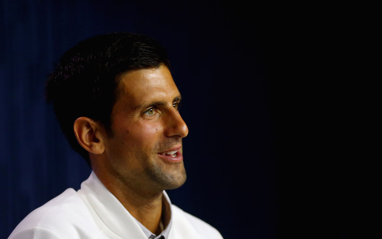 Novak Djokovic of Serbia . Mike Stobe/Getty Images for USTA/AFP