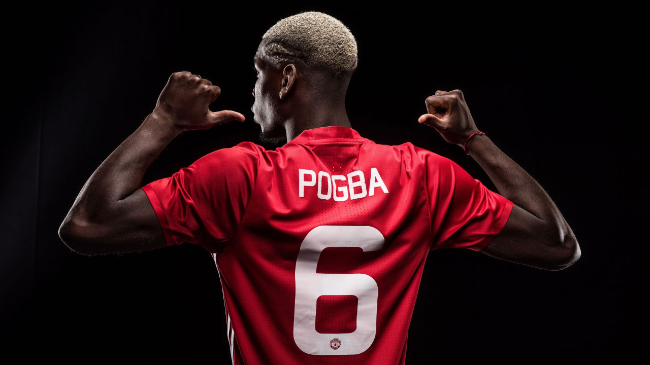 Paul Pogba PHOTO:MANCHESTER UNITED