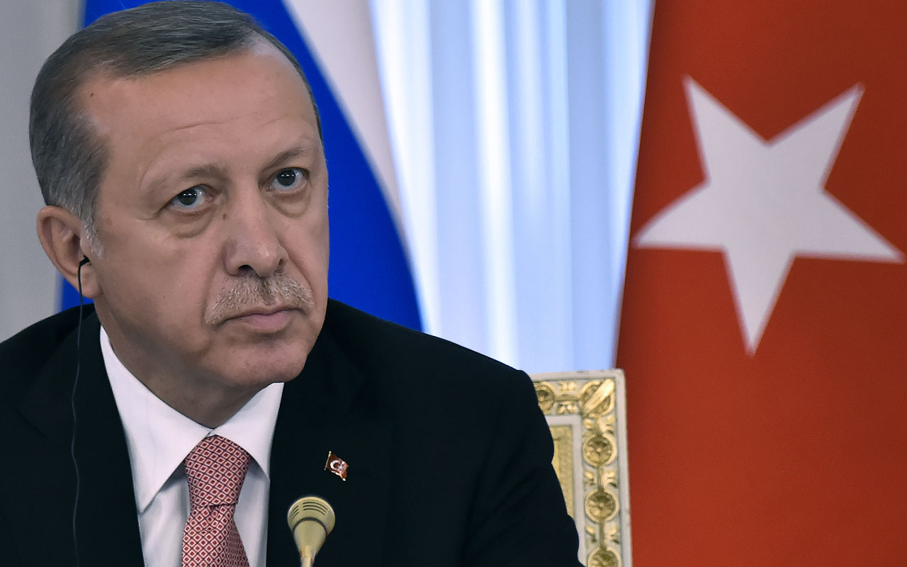 Turkish President Tayyip Erdogan / AFP PHOTO / ALEXANDER NEMENOV