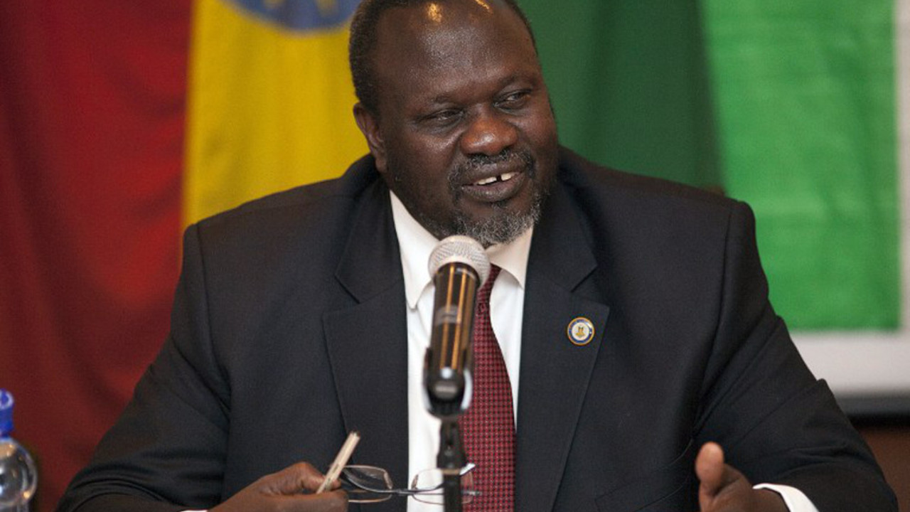 Riek Machar PHOTO:AFP